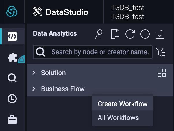 Create a DataWorks workflow
