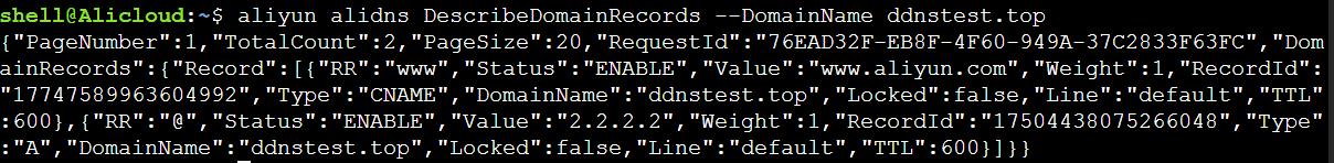 获取解析记录列表