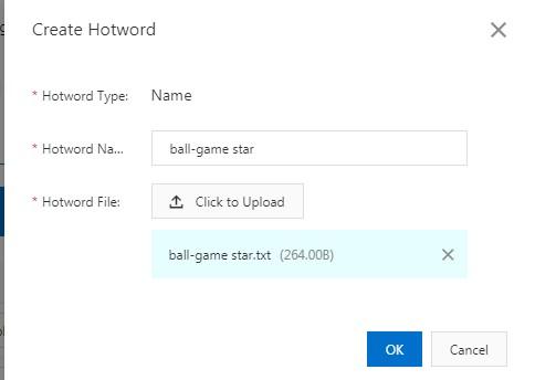 Add hotwords