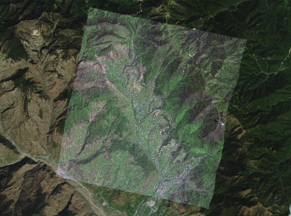 高清卫星遥感影像