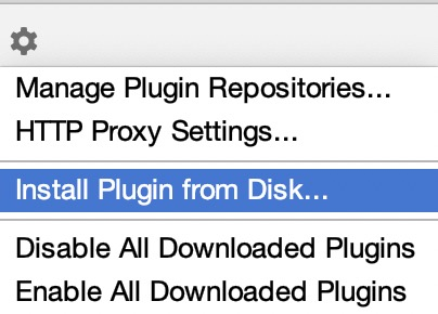 Install Plugin from Disk