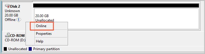 Windows_FormatDataDisk_Online