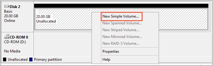 Windows_FormatDataDisk_NewSimpleVolume