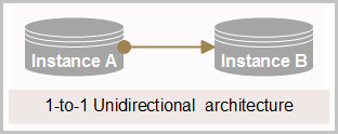 1-to-1 Unidirectional architecture