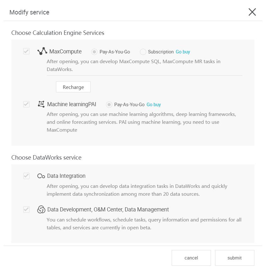 ModifyService