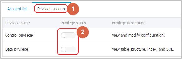 Authorize a service account