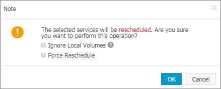 Reschedule a service - User Guide  Alibaba Cloud