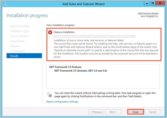 ECS _ WindowsUpdate _ NET Framework 3.5