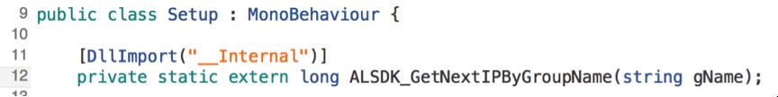 定义SDK外部方法