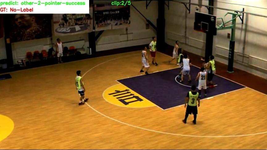 篮球动作视频识别2