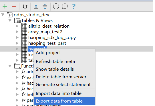 table_export_menu