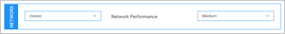 Select a network type