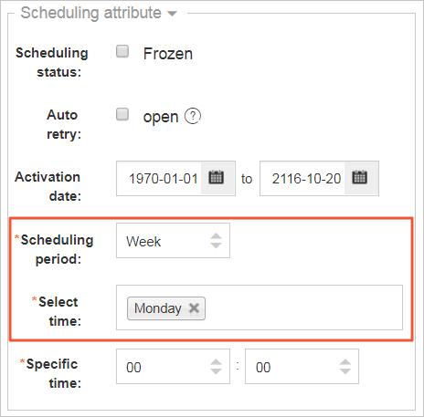 SchedulingByWeek