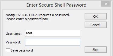用户名和密码