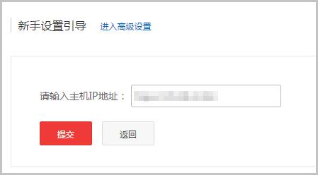 输入公网IP地址