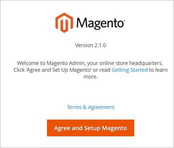 Magento安装成功