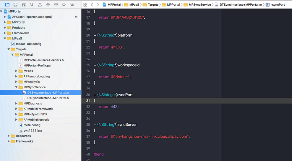 Configure a project
