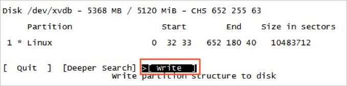fdisk_write
