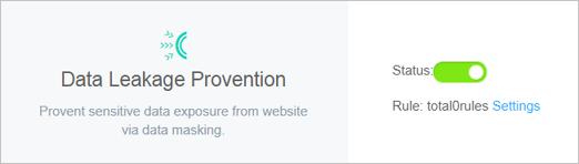 Data Leak Prevention