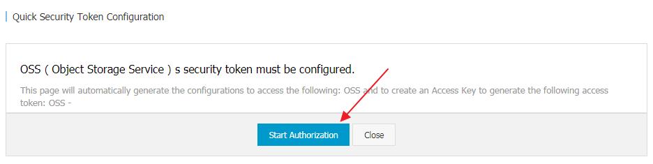 oss-security-token-configuration