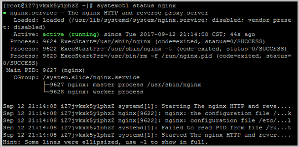 CentOS7.3_nginx is started