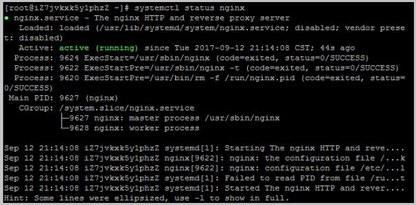 CentOS7.3_nginx已启动