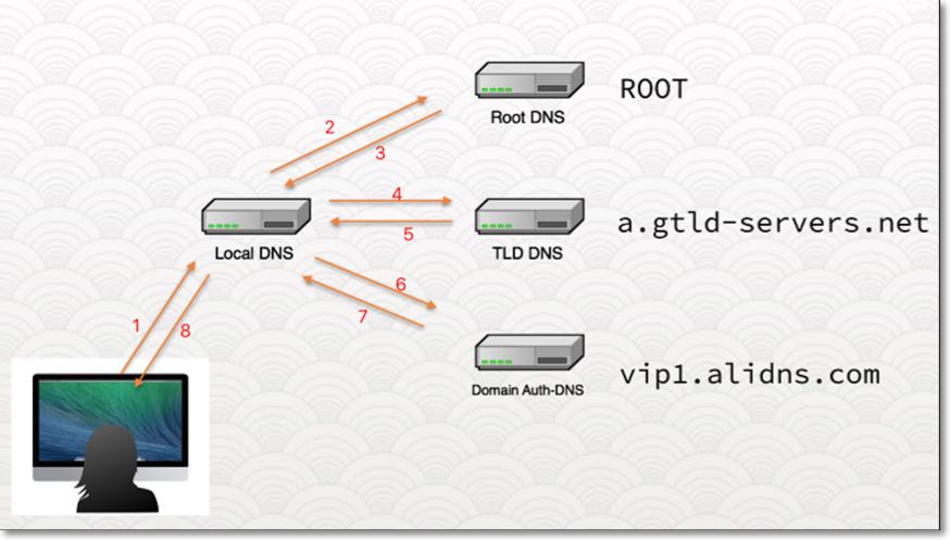 DNS查找过程