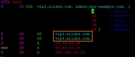 只配置主DNS-1