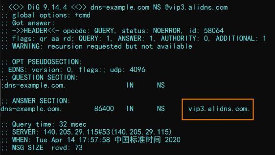 只配置主DNS-2