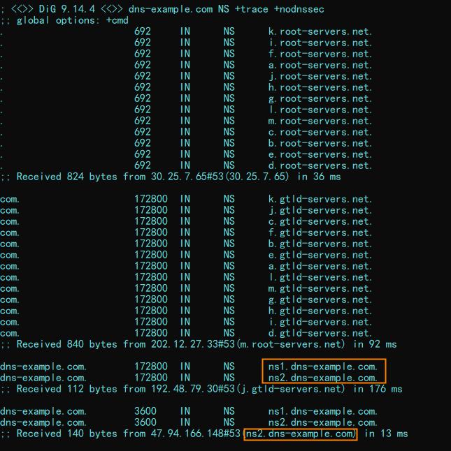 只配置辅助DNS-3