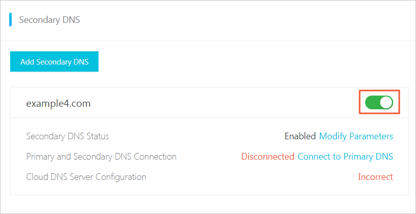 disable-secondary-dns